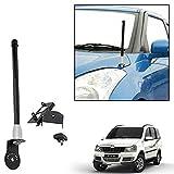 #9: Vheelocityin VIP Style Car Antenna Bonnet Antenna For Mahindra Xylo