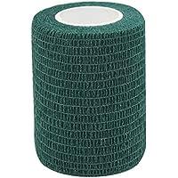 STpro Selbstklebender Verband Tape Fixierverband Selbsthaftende Bandage 7,5cm x 6 Stück Dunkel Grüne Tape Haftbandage... preisvergleich bei billige-tabletten.eu