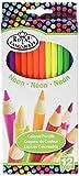 Couleurs Fluo Pencils-12/Pkg par Royal Brosse