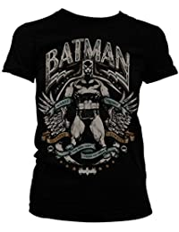 Officiellement Marchandises Sous Licence Dark Knight Crusader Femme Tee