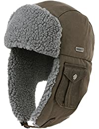 d9ca24413ff24 Unisex Trooper Trapper Hat Warm Thick Faux Fur Mens Winter Hats for Womens  Earflaps Hunting Hat