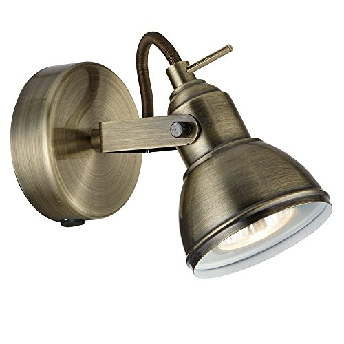 antique-brass-finish-vintage-retro-style-1-way-wall-or-ceiling-spotlight-fitting-with-1-x-50-watt-ha