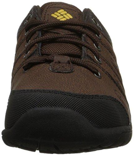 Columbia Youth Adventurer, Chaussures de Randonnée Basses Mixte Enfant Marron (mud 255)