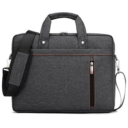 Lemberg) wasserabweisend 35,6cm Business Notebook shoudlder Tasche Messenger Umhängetasche Aktentasche schwarz schwarz schwarz