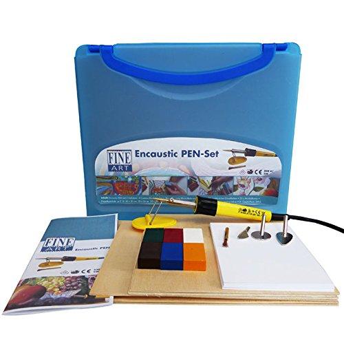 Encaustic Stylo-grande set regalo con un sacco di accessori