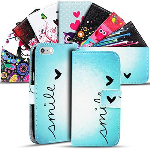 iPhone 6s Plus, 6 Plus Muster Hülle, Conie Mobile Handytasche Bookstyle Schutzhülle Motiv Bilderhülle Wallet Tasche, PU Leder Tasche Motiv 20
