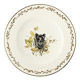 Königlich Tettau 004.103747 Frühstücksteller 22,5 cm Achat diamant Wildschwein
