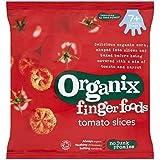 Organix Amuse-Gueules Organiques Tranches De Tomate 7 + Mois Etape 2 20G