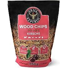 rauchquadrat R/äucherchips Smoking Chunks 1,3 kg Buche Natur Holz Chips Zum Grillen R/äuchern BBQ