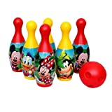 #6: Disney Bowling Set - Mickey and Friends, Multi Color