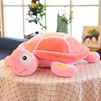 asfrata265 Cute Down Cotton Little Turtle Plush Toy Cartoon Pillow 50X70Cm Powder