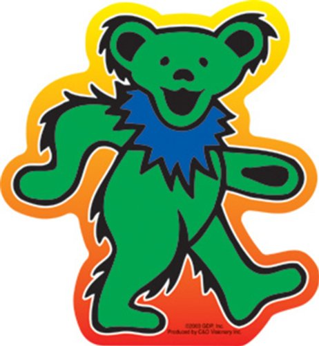 GRATEFUL DEAD Dancing Bear, Officially Licensed Original GDP Inc., Artwork, 5