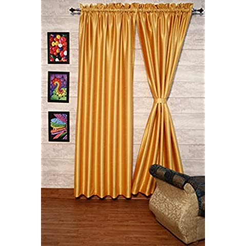 fuschia-gold cortinas satén de seda Dupioni sintética, elección de piezas, anchura y longitud elección con forros opacos por zappycart., 51