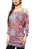 B.C. Best Connections by Heine Kleid Shirtkleid Mini Jerseykleid Mehrfarbig, Größenauswahl:34