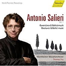 Salieri: Overtures & Ballet Music