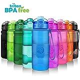 ZORRI Botella de Agua Deportiva - 400ml/500ml/700ml/1000ml - sin BPA & a Prueba de...