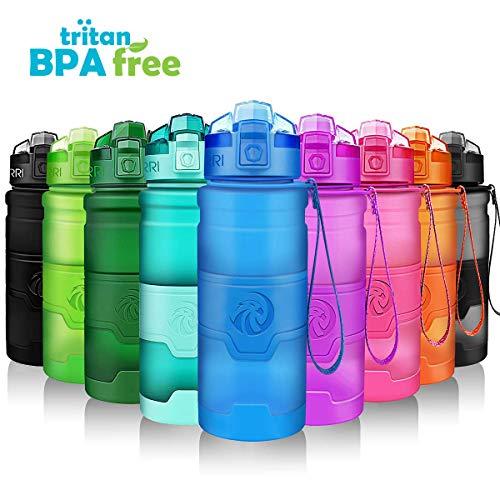 ZORRI Sport Wasserflasche Trinkflasche Bpa Frei Tritan… | 00711102642134