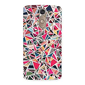 Neo World Abstract Colors Back Case Cover for LG G3 Stylus