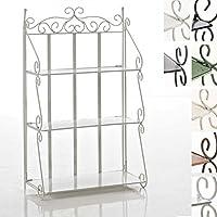 suchergebnis auf f r metall regal landhausstil. Black Bedroom Furniture Sets. Home Design Ideas