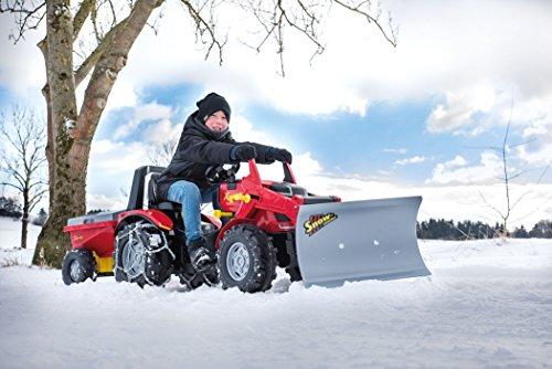 Rolly Toys 409617 rollySnow Master Planierschild für Traktor rollyJunior, rollyFarmtrac, rollyFarmtrac Classic, rollyFarmtrac Premium, rollyX-Trac, rollyTruck(Unimog) | Schneeschild Frontanbau - 8