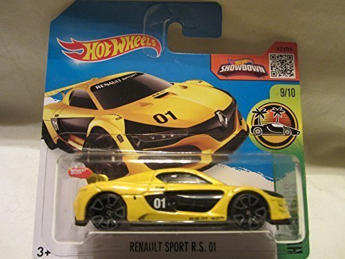 Hot Wheels HW Exotics Renault Sport R.S. 01 9/10 Short Card by HW