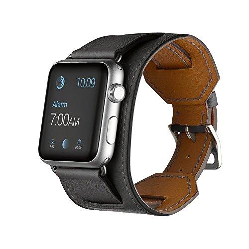 FOTOWELT pour Apple Watch Band, Double Tour de...