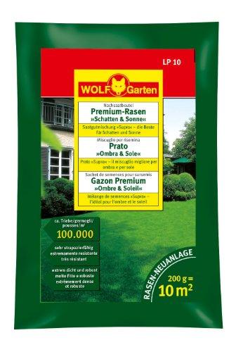 Wolf-Garten 3820010 LP 10 Prato Premium Ombra e Sole, Multicolore, 32x19x40 cm