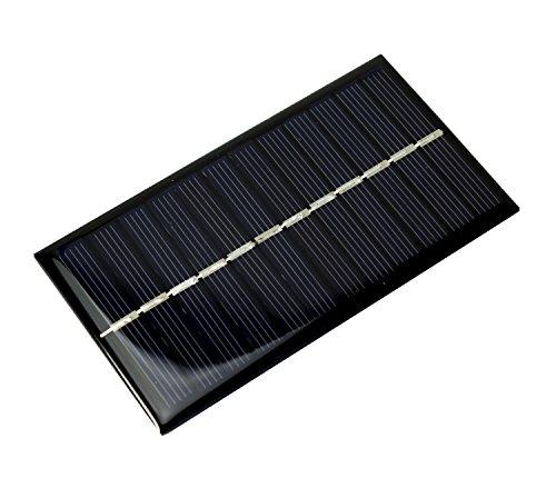 MissBirdler 1Watt 6V 166mA 110x60mm Epoxid Solarzelle Solar modul Solarpanel f. Arduino Modellbau DIY