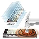 Urcover® gerundete TPU Schutz-Folie   Samsung Galaxy S6 Edge Plus   4X Front Folie 2X Back Folie   Komplett Display Zubehör Handy-Schutz   Full Screen-Protector   transparent   Edge to Edge
