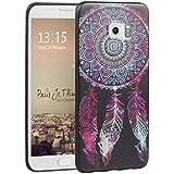 Galaxy S6 Edge Plus,Galaxy S6 Edge Plus G928 Funda Silicona,Asnlove Funda y Carcasa Ultra Fino Gel TPU Silicona Case Cover Protectora Back Tapa Trasera Diseño Motivos Pinturas,Cazador de sueno