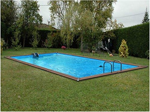 Pool Holz waterclip Symi Holz 680x 520x 147cm Außerhalb Boden rechteckig
