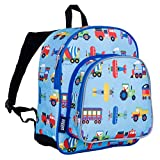 Best Backpacks For Boys - Wildkin Toddler Transport Backpack, Multi-Colour Review