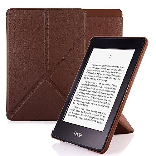 Nouske Origami Schutzhülle für Amazon Kindle Paperwhite Voyage braun braun All Kindle Paperwhite -