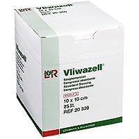 VLIWAZELL Saugkompressen 10x10 cm steril 25 St Kompressen preisvergleich bei billige-tabletten.eu