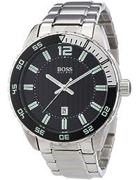Hugo Boss 1512889 - Reloj analógico de cuarzo para hombre con correa de  acero inoxidable 48e961d40e9