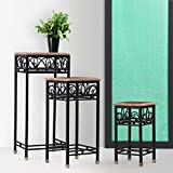 Onlineshoppee Wooden And Iron End Table ...