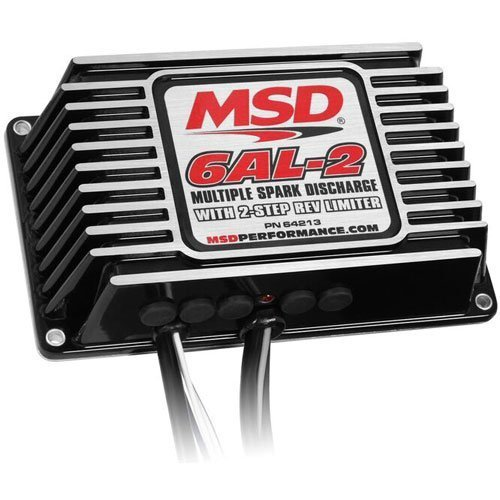 MSD 6Al-2 Contrôle D'Allumage Avec 2-Étape Rev Limiteur Pn: 64213