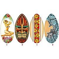 TEOREMA 40533, tabla de surf de madera altura 104 cm, un solo panel