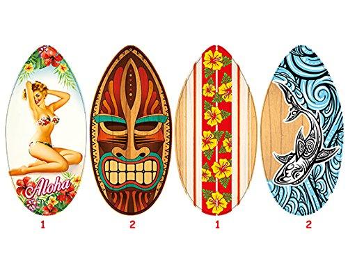 Teorema 40533, tavola da surf in legno altezza 104 cm, un singolo pezzo