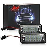 WIN Power 18SMD LED hinten Kennzeichenbeleuchtung Montage Bar Bright Weiß led-lampe