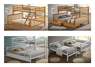 Artisan Beds Beech Triple Sleeper Bunk Bed