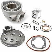 AIRSAL - 33485 : Kit Completo De Aluminio 49,5Cc B&W, Kymco 50Cc Agua