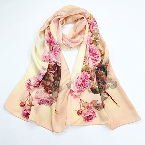 100% Silk Schal Digital Printing Chinesischen Stil Langen Schal Hangzhou Seide Exquisite Hand Gerollt Schal Abendkleid Schal 175Cm * 52Cm HQ.ADIER,23 -