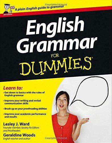 English Grammar for Dummies, UK Edition by Lesley J. Ward (2007-03-23)