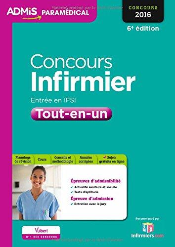 Concours Infirmier - Entrée en IFSI - Tout-en-un - Concours 2016