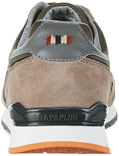 Napapijri Rabari, Basses Homme Mehrfarbig (new khaki+bright orange)