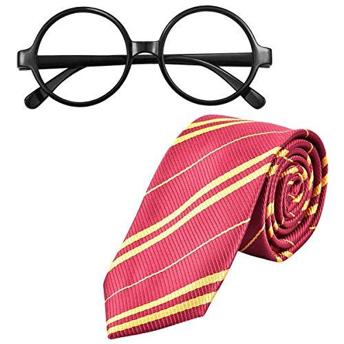 NATUCE Disfraz de Corbata para niños Disfraces de Cosplay Accesorios Set