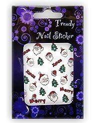 EigenArt Nail Art XMAS Glitter Nail Art Sticker