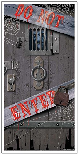 Generique - Decorazione per Porta Do not Enter Halloween