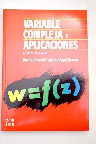 Variables complejas y aplicaciones por James Ward Brown